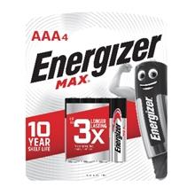 รูปภาพของ ถ่านอัลคาไลน์ ENERGIZER แม็กซ์ E92-BP6 AAA (แพ็ค 6 ก้อน)