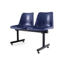 รูปภาพของ เก้าอี้พักคอย 2 ที่นั่ง APEX ALF-812 น้ำเงิน