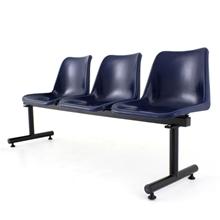 รูปภาพของ เก้าอี้พักคอย 3 ที่นั่ง APEX ALF-813 น้ำเงิน
