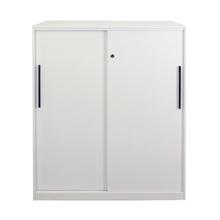 รูปภาพของ ตู้เอกสารเหล็กบานเลื่อนทึบ 3 ชั้น METAL-PRO MY-QG-SD-3D ขาว