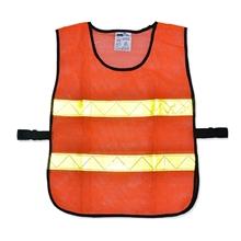 รูปภาพของ เสื้อจราจรแบบตาข่ายแถบสีเหลือง2แถบ YAMADA OR-6045U สีส้ม