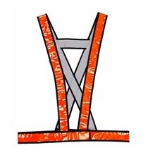 รูปภาพของ เสื้อกั๊กสะท้อนแสง YAMADA OR-6050X