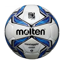 รูปภาพของ ลูกฟุตบอล MOLTEN F5V2000 เบอร์5 น้ำเงิน