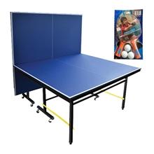 รูปภาพของ โต๊ะเทเบิลเทนนิสพร้อมไม้เทเบิลเทนนิส 1 คู่ Dragonfly 20 มม.