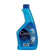รูปภาพของ รีฟิลล์น้ำยาเช็ดกระจก Crystal Clear 580 cc.