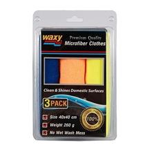 รูปภาพของ ผ้าไมโครไฟเบอร์ Waxy (แพ็ค 3 ผืน)