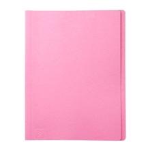 รูปภาพของ แฟ้มพับ ใบโพธิ์ 300 แกรม F4 สีชมพู (แพ็ค 50 เล่ม)