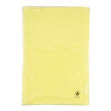 รูปภาพของ แฟ้มพับกระดาษออร์ก้า F4 300g เหลือง 1x20