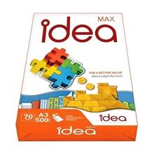 รูปภาพของ กระดาษถ่ายเอกสาร IDEA แม็กซ์ 70/500 A3