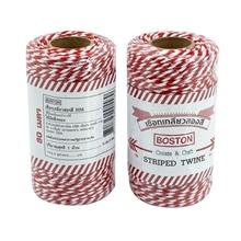 รูปภาพของ เชือกขาวแดง บอสตัน ยาว 80 เมตร