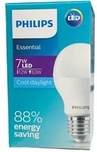 รูปภาพของ หลอดไฟ Philips Essential LED Bulb 7W รุ่น ประหยัด-Daylight 6500k