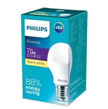 รูปภาพของ หลอดไฟ Philips Essential LED Bulb 7W รุ่น ประหยัด-Warm White 3000k