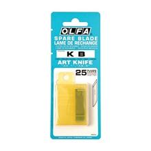 รูปภาพของ ใบมีดคัตเตอร์ OLFA KB 6 มม. หลอด 25 ใบ