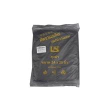 """รูปภาพของ ถุงขยะ สีดำ 24x28"""" 1 กก. (ถุง 25 แพ็ค)"""