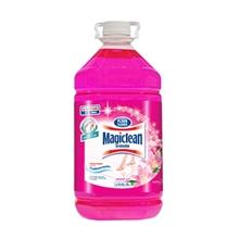 รูปภาพของ น้ำยาถูพื้นมาจิคลีน สีชมพู กลิ่นลิลลี่ บูเก้ 5200 มล.