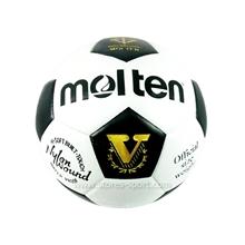 รูปภาพของ ฟุตบอลหนังอัด molten รุ่น S5V ขาว-ดำ