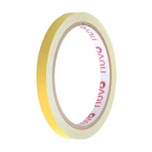 รูปภาพของ เทปพีวีซี ตีเส้น นูโว 9mm.x 9y สีเหลือง(1x12ม้วน)