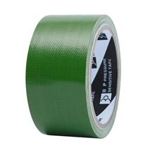 """รูปภาพของ เทปผ้า ใบโพธิ์ 2""""x8y สีเขียว(1x6ม้วน)"""