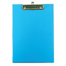 รูปภาพของ คลิปบอร์ดพลาสติกพีพี ออร์ก้า A4สีน้ำเงินเข้ม(1x12เล่ม)