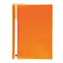 รูปภาพของ แฟ้มเจาะพลาสติก XING No.1114 A4 สัน 1 ซม. สีส้ม(1x12เล่ม)