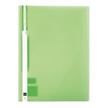 รูปภาพของ แฟ้มเจาะพลาสติก XING No.1114 A4 สัน 1 ซม. สีเขียว(1x12เล่ม)