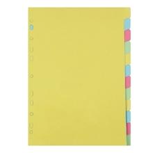 รูปภาพของ อินเด็กซ์กระดาษการ์ด ใบโพธิ์ 12 หยัก A4 คละสี(1x25แพ็ค)