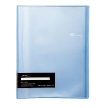 รูปภาพของ แฟ้มโชว์เอกสาร อี-ไฟล์ รุ่น 720A ขนาด A4 สีฟ้า (40 ซอง)(1x12เล่ม)