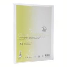 รูปภาพของ แฟ้มโชว์เอกสาร ฟลามิงโก้ 9084-40 23.8x31 ซม. A4 สีขาวใส(1x12เล่ม)