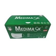 รูปภาพของ หน้ากากอนามัย 3 ชั้น MEDIMASK สีเขียว (กล่อง 50 ชิ้น)