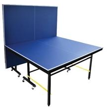 รูปภาพของ โต๊ะเทเบิลเทนนิส 20 มม. Dragonfly แบบล้อเลื่อน โครงเหล็ก (พร้อมตาข่าย และเสา) สีน้ำเงิน