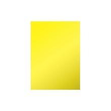 รูปภาพของ สติ๊กเกอร์ PVC53X70ซม.สีเหลือง แพ็ค 10 แผ่น