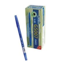 รูปภาพของ ปากกาลูกลื่น จีซอฟท์ GS007 0.38 มม. สีน้ำเงิน (1x30)