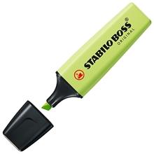 รูปภาพของ ปากกาเน้นข้อความ STABILO BOSSPastel 70/133 Dash of Lime