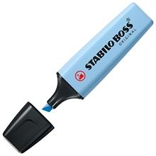 รูปภาพของ ปากกาเน้นข้อความ STABILO BOSSPastel 70/111 Cloudy Blue