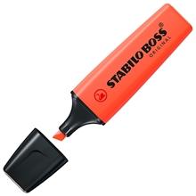 รูปภาพของ ปากกาเน้นข้อความ STABILO BOSSPastel 70/140 Mellow Coral Red