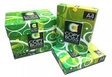 รูปภาพของ กระดาษถ่ายเอกสาร COPY BOSS A4 70 แกรม 500 แผ่น ห่อเขียว กล่อง 5 รีม