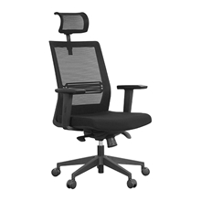 รูปภาพของ เก้าอี้สำนักงาน MONO 6042 A ดำ