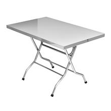 รูปภาพของ โต๊ะพับสเตนเลส Seagull (70x110 cm.)
