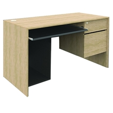 รูปภาพของ โต๊ะทำงานไม้ MONO TSL 1202/BC สี W01ML/W04MB