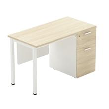 รูปภาพของ โต๊ะทำงานไม้ Workscape 6DR-1260 เมเปิ้ล/ขาว