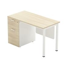 รูปภาพของ โต๊ะทำงานไม้ Workscape 6DL-1260 เมเปิ้ล/ขาว