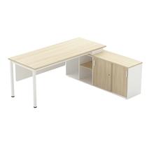 รูปภาพของ โต๊ะทำงานไม้ Workscape 6C1R-1875 เมเปิ้ล/ขาว