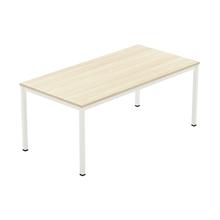 รูปภาพของ โต๊ะประชุมไม้ Workscape 6M1A-2010 เมเปิ้ล/ขาว