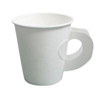 รูปภาพของ แก้วกระดาษมีหูจับสีขาว 8-9 ออนซ์ (50 ใบ)