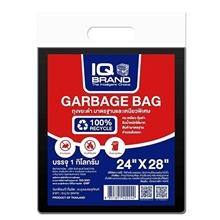 รูปภาพของ ถุงขยะ สีดำ IQ ขนาด 24x28 นิ้ว (ถุง 25 แพ็ค)