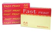 รูปภาพของ กระดาษถ่ายเอกสาร Fast Print A4 70G/500 (แพ็ค 5 รีม)