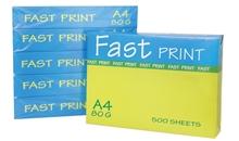 รูปภาพของ กระดาษถ่ายเอกสาร Fast Print A4 80G/500 (แพ็ค 5 รีม)